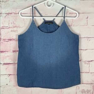 ONLY Blue Jean Tank Top